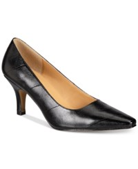 Karen Scott Clancy Pumps Only At Macy's Women's Shoes Black Eel