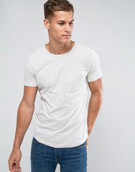 Tom Tailor T Shirt With Pocket Cream