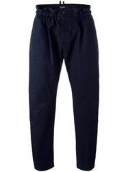 Dsquared2 Elasticated Waistband Chinos Blue