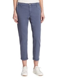 Ag Jeans Caden Rolled Twill Pants Sulfur Frontier Blue