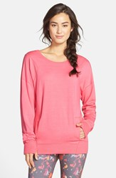 Zella 'Amore' Pullover Pink Honey Heather