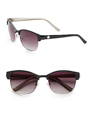 O By Oscar De La Renta 56Mm Wayfarer Sunglasses Black