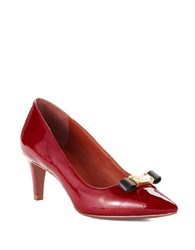 Marc By Marc Jacobs Bow Detail Pumps Red