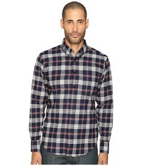 Naked And Famous Real Indigo Flannel Button Down