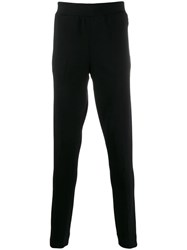 Z Zegna Straight Leg Sweatshirt Pants Black