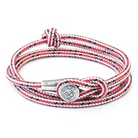 Anchor And Crew Dundee Rope Silver Bracelet