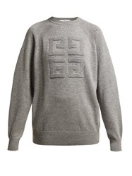 Givenchy Cashmere Crew Neck Sweater Grey