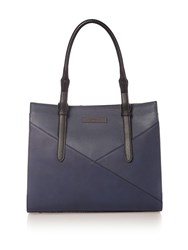 Kenneth Cole Greenwich Tote Bag Navy