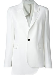 Cnc Costume National Costume National Asymmetric Blazer White