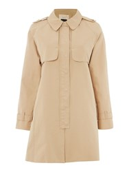 Part Two Trench Coat Brown