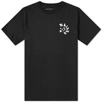 Raised By Wolves Twister Tee Black