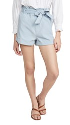 Knot Sisters Jade Shorts Sky Blue