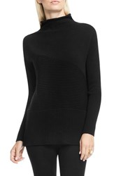Vince Camuto Women's Rib Knit Turtleneck Sweater Rich Black
