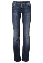 Only Ebba Bootcut Jeans Dark Blue Denim