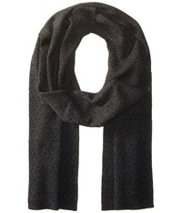 Ted Baker Lineup Charcoal Scarves Gray