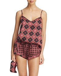 Sam Edelman Printed Cami And Shorts Set Windsor Red