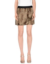 Guess By Marciano Skirts Mini Skirts Women Beige