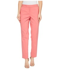 Vince Camuto Front Zip Ankle Pants Rossetto Women's Casual Pants Red