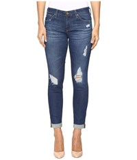 Ag Adriano Goldschmied Stilt Roll Up In 10 Years Revealed 10 Years Revealed Women's Jeans Blue