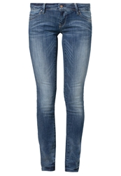 Only Coral Slim Fit Jeans Blue Denim