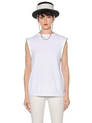 Alyx Beaded Cotton Jersey T Shirt