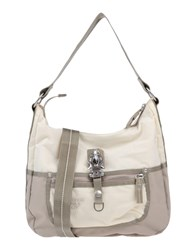George Gina And Lucy Handbags Ivory