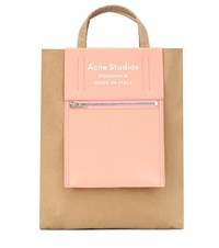 Acne Studios Baker Out Medium Nylon Tote Brown
