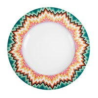 Missoni Home Zig Zag 27Cm Dinner Plate Set Of 2