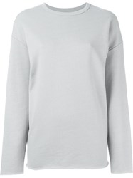6397 Crew Neck Sweatshirt Grey