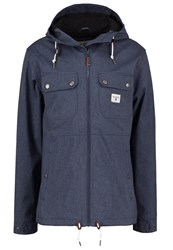Billabong Matt Summer Jacket Navy Heather Mottled Dark Blue