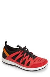 Men's Rockport '360' Sneaker High Risk Red Black