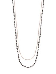 Astley Clarke Biography Hematite And Diamond Sun Beaded Necklace Rose Gold Hematite