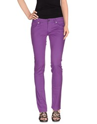 Met In Jeans Denim Denim Trousers Women Purple