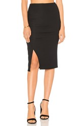 Splendid Ruched Skirt Black