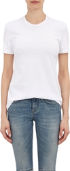 Barneys New York Crewneck T Shirt White
