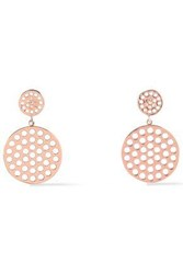 Arme De L'amour Rose Gold Tone Earrings Rose Gold