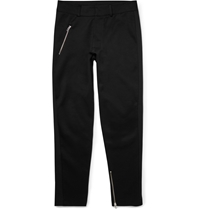 Mcq By Alexander Mcqueen Slim Fit Cotton Blend Jersey Sweatpants Black