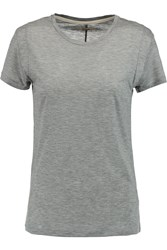 J Brand Frida Jersey T Shirt Gray