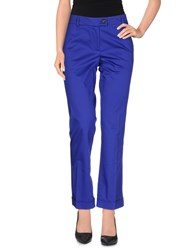 Moschino Cheap And Chic Moschino Cheapandchic Trousers Casual Trousers Women Dark Blue