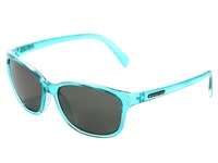Suncloud Polarized Optics Flutter Aqua Print Sport Sunglasses Blue