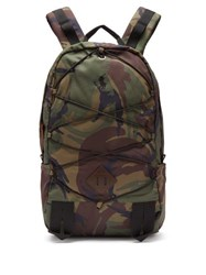Polo Ralph Lauren Camouflage Print Technical Backpack Camouflage