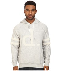 Diamond Supply Co. Un Polo Pullover Hoodie Heather Grey Men's Sweatshirt Gray