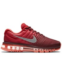 Nike Men's Air Max 2017 Running Sneakers From Finish Line Night Maroon White Gym Re