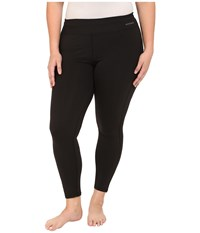 Terramar Plus Size Cloudnine Performance Tights W8218w Black Women's Casual Pants