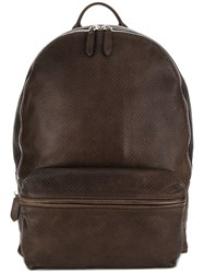 Eleventy Classic Backpack Brown