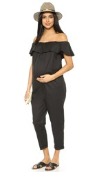 Hatch The Chloe Jumpsuit Black