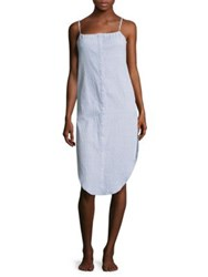 Onia Flora Chambray Cover Up Dress