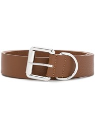 Barbara Bui Cracked Effect Belt 60