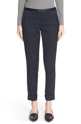 Atm Anthony Thomas Melillo Women's 'Classic' Stretch Satin Slim Leg Crop Pants