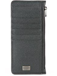 Dolce And Gabbana 'Dauphine' Long Cardholder Wallet Grey